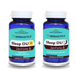 Sleep Duo AM/PM, 30 capsule + 30 capsule, Herbagetica