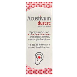 Acustivum Spray Auricular Durere, 20ml, Zdrovit