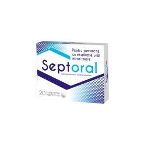 Septoral, 20 comprimate, Zdrovit
