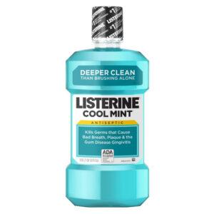 Listerine apa de gura Coolmint, 250ml, Johnson&Johnson