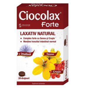 Ciocolax forte, 20 capsule, Solacium