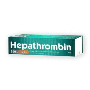 Hepathrombin gel 500ui, 40g, Stada