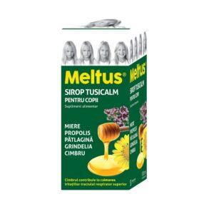 Meltus sirop tusicalm copii, 100ml, Solacium
