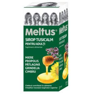 Meltus sirop tusicalm adulti, 100ml, Solacium