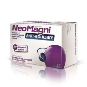 Neomagni anti-epuizare, 50 comprimate, Aflofarm