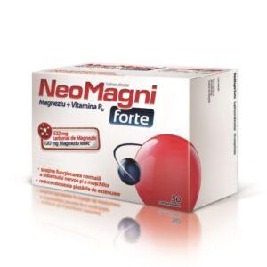 Neomagni Forte, 50 comprimate, Aflofarm