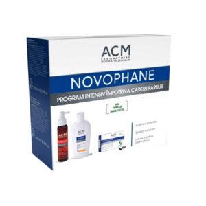 Acm Novophane pachet lotiune, cps, sampon, Lab Lysaskin