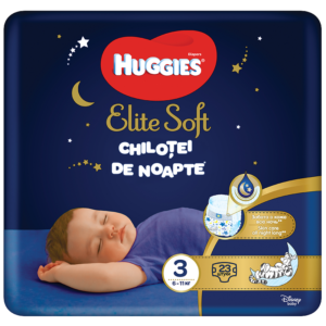 Chiloti de noapte, elite soft pants, nr 3, 23 bucati, Huggies