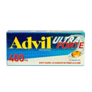 Advil ultra forte 400mg, 10 capsule moi, GSK