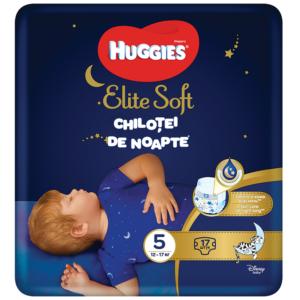 Chilotei de noapte elite soft pants, nr 5, 17 bucati, Huggies