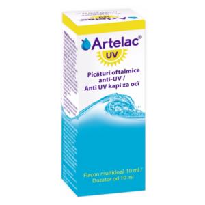 Artelac Uv, solutie oftalmica,10ml,  Bausch & Lomb