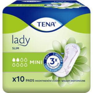 Absorbante pentru incontinenta Lady slim mini,10 bucati, Tena