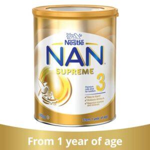Formula de lapte praf Nan 3 Supreme, de la 12 luni, 800g, Nestle
