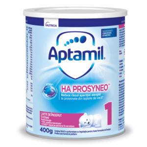 Lapte praf Aptamil Ha 1 Prosyneo, 400g, Nutricia