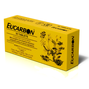 Eucarbon 500mg, 30 comprimate, Trenka Chemisch