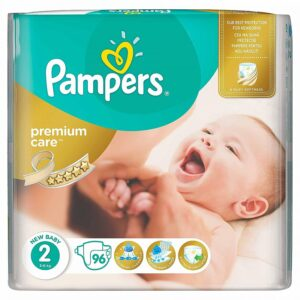 Pampers 2 new baby, 96 bucati, Procter & Gamble