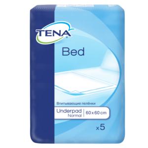 Aleze/ Protectie pentru pat bed normal 60/60, 5 bucati, Tena