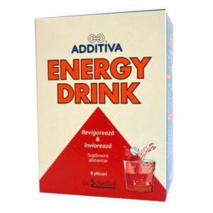 Additiva energy drink, 8 plicuri, Dr. Scheffler