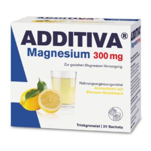 Additiva magneziu 300mg, 20 plicuri, Dr. Scheffler